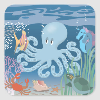 The Octopus sticker