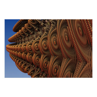 The Odd Beauty of Fractals Poster