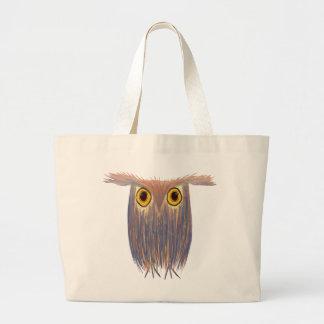 The Odd Owl ~ Jumbo Tote Tote Bags