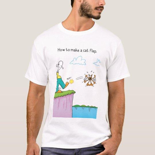 The Odd Squad Cat Flap t-shirt