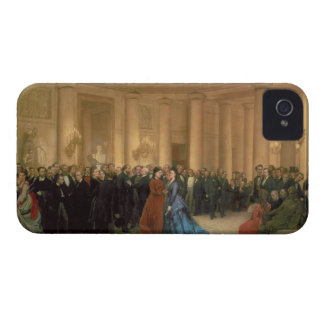 The Odeon Theatre, Paris, 1869 (oil on canvas) iPhone 4 Covers