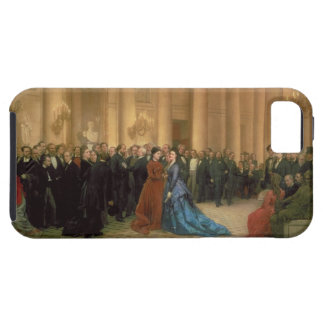 The Odeon Theatre, Paris, 1869 (oil on canvas) iPhone 5 Case