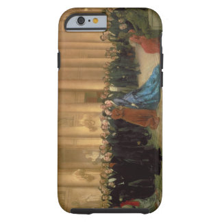 The Odeon Theatre, Paris, 1869 (oil on canvas) Tough iPhone 6 Case