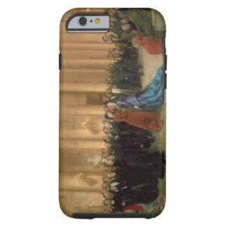The Odeon Theatre, Paris, 1869 (oil on canvas) Tough iPhone 6 Case