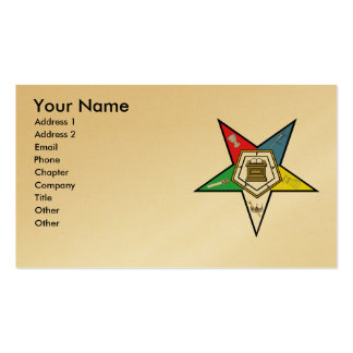 The OES Card Pack Of Standard Business Cards