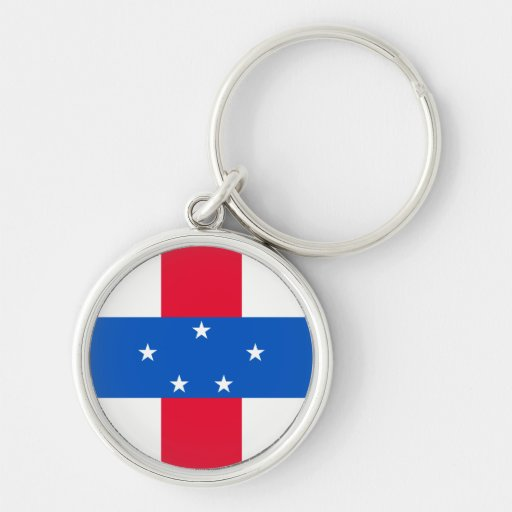 The of Netherlands Antilles Key Chains