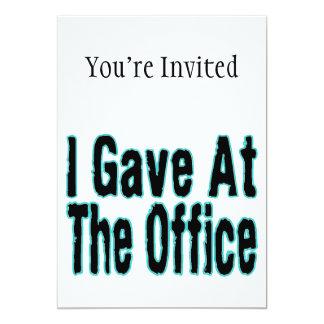 The Office 13 Cm X 18 Cm Invitation Card