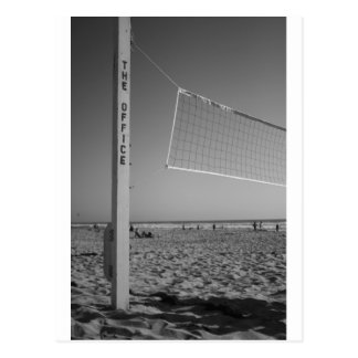 The office, Beach Volleyball Postcard