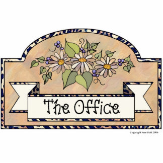 The Office - Decorative Sign Photo Sculpture