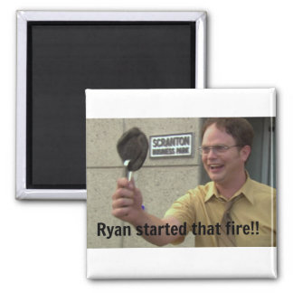 The Office Square Magnet