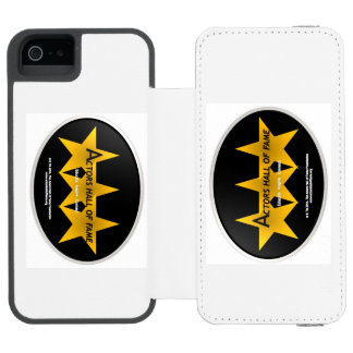 The Official Actors Hall of Fame iPhone case Incipio Watson™ iPhone 5 Wallet Case