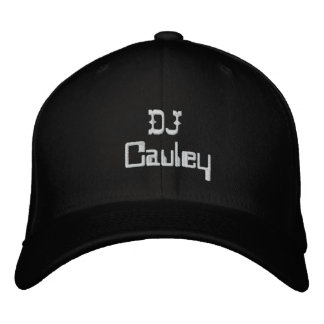 The official DJCAuley hat Better Embroidered Baseball Caps