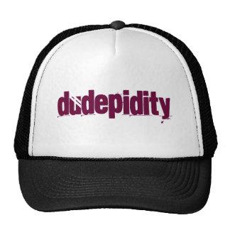 The Official Dudepidity Cap Trucker Hat