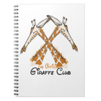The Official Giraffe Club sketchbook Note Books