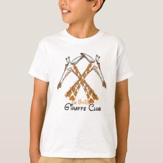 The Official Giraffe Club tshirt