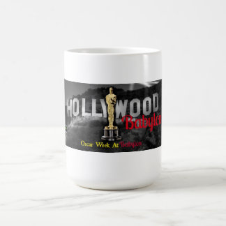 THE OFFICIAL HOLLYWOOD BABYLON O. WEEK MUG!! COFFEE MUG