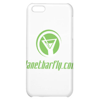 The official planetbarfly com logo in green iPhone 5C cover