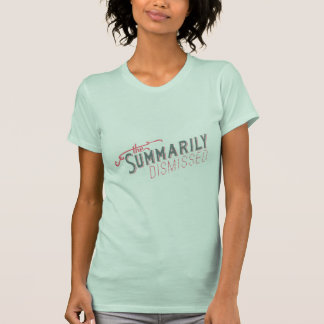 The Official Summarily Dismissed Logo T-Shirt