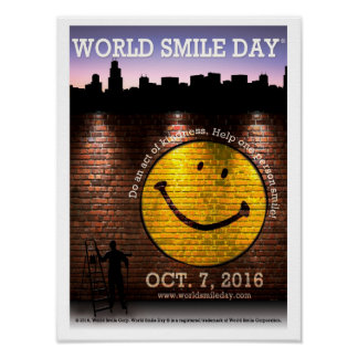 The Official World Smile Day® 2016 Poster