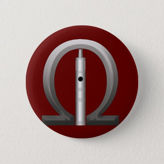 The OHM LOver 6 Cm Round Badge