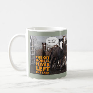 The OIT horses... Coffee Mug