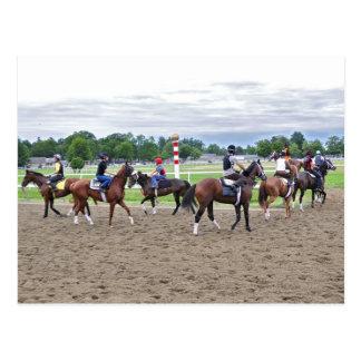 The Oklahoma Training Track at Saratoga Post Card