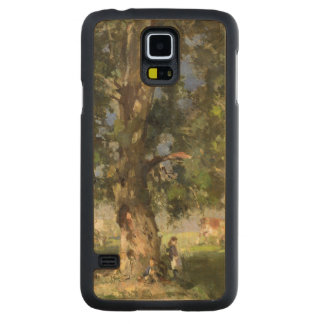 The Old Ash Tree (oil on canvas) Carved Maple Galaxy S5 Case