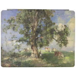 The Old Ash Tree (oil on canvas) iPad Cover