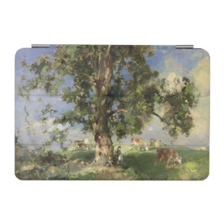 The Old Ash Tree (oil on canvas) iPad Mini Cover