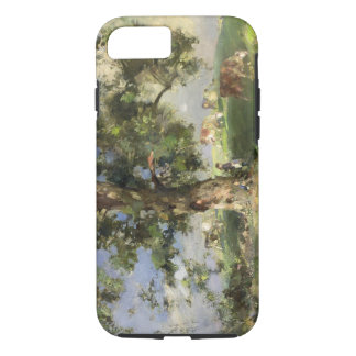 The Old Ash Tree (oil on canvas) iPhone 8/7 Case