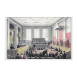The Old Bailey, London Stretched Canvas Print