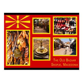 The Old Bazaar in Skopje Postcard