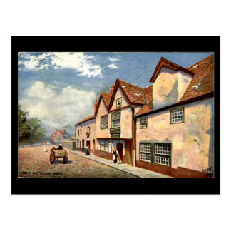 The Old Black Swan, York Postcard