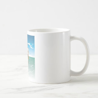 The old boat and the sea coffee mugs