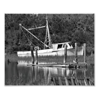 The old Boat Photo Print