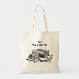 The Old Bookshop Tote Budget Tote Bag