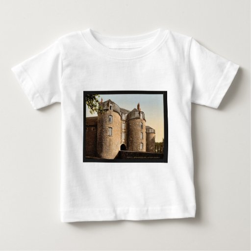 The old castle, Boulogne, France classic Photochro Shirts