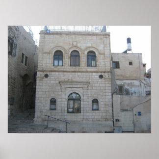 The old city Jerusalem Print