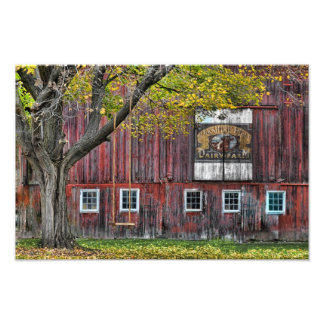 The Old Dairy Farm Barn Photograph