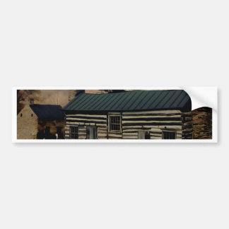 The Old Farm House. Bumper Sticker