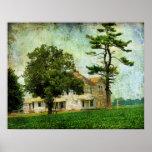 The Old Farm House Print