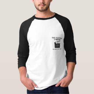The Old Film Company 3/4 Length Sleeve T-Shirt