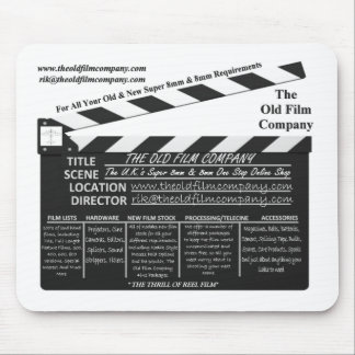 The Old Film Company Mouse Pad