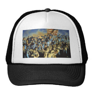 The Old Flag Never Touched the Ground Cap