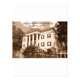 The Old Governor's Mansion, Milledgeville, Georgia Postcard
