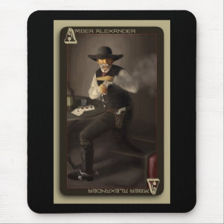The Old Gunfighter Mouse Pad