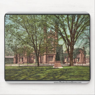 The Old library, Yale College rare Photochrom Mouse Mat