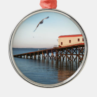 The Old Lifeboat Station at Tenby Christmas Ornament