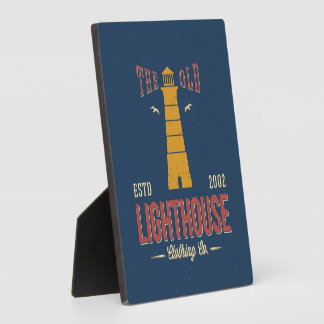 The Old Lighthouse Clothing Co. Plaque