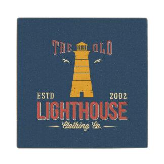 The Old Lighthouse Clothing Co. Wood Coaster